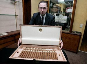 Cuban cigars are one of the products that would have a big demand in the US market in a post-embargo period.