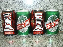 The two main Cuban beers sold in hard currency.