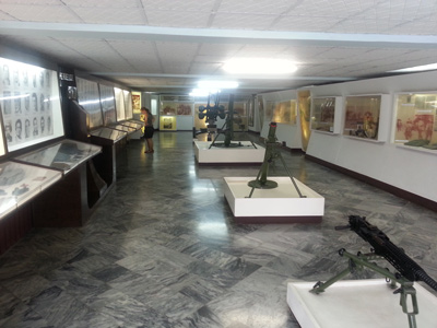 Bay of Pigs invasion museum.