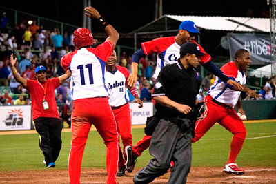Cuba after their lone but highly important Caribbean Series Win on Wednesday.