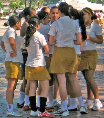 Junior High Students. Photo: Carol R. Campbell
