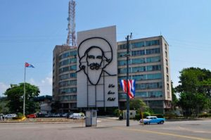 El Ministerio de Comunicaciones de Cuba.  Foto: wikimapia.org