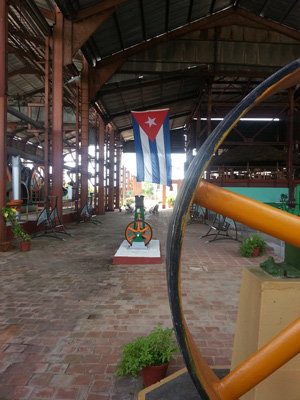 Sugar refinery museum in Caibarien.