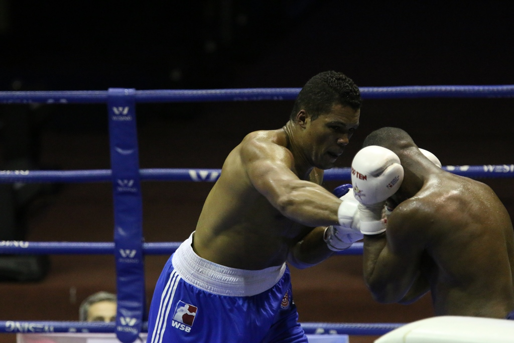 The Cuba Domadores are once again in first place of their group in this seasons World Series of Boxing.