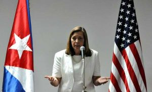Josefina Vidal leads the Cuban delegation in negotications with the United States.