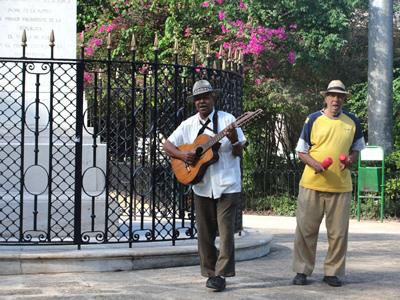 Street musicians.  Foto: Elio Delgado Valdes