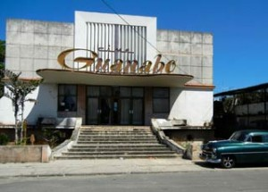 The old Guanabo Cinema.
