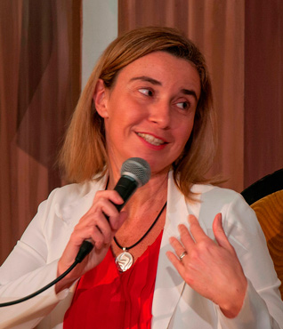 The EU High Representative for Foreign Affairs Federica Mogherini visited Cuba to hasten the normalization of relations with the island. Photo: Raquel Perez Diaz
