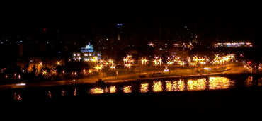 Havana at night.  Photo: Jose Armando Ocampo