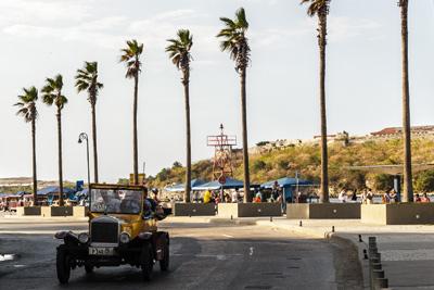 Touring Havana.  Photo: Juan Suarez