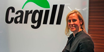 Devry Boughner Vorwerk, ejecutive for Cargill corporation. Photo: progresosemanal.us -