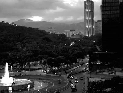 Plaza Venezuela in Caracas.  Photo: Caridad