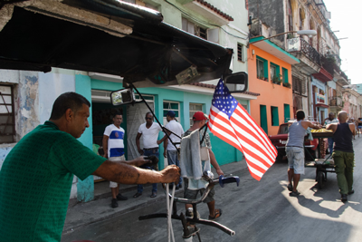 American Dream in Havana.  Photo: Juan Suarez