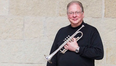 Trumpet player John Alvey