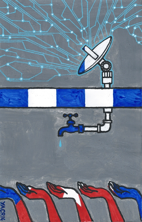 Ilustration by Yasser Castellanos