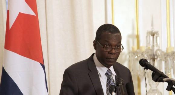 Pedro Luis Pedroso represented Cuba at Tuesday's talks in Washington.