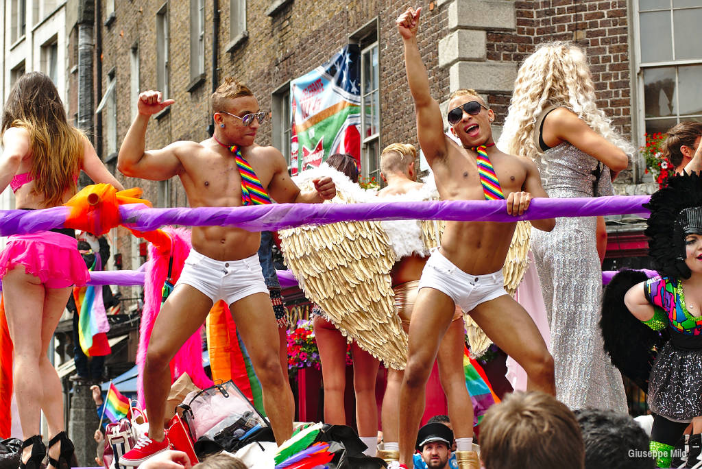 From a gay pride day in Dublin.  File photo: wikipedia.org