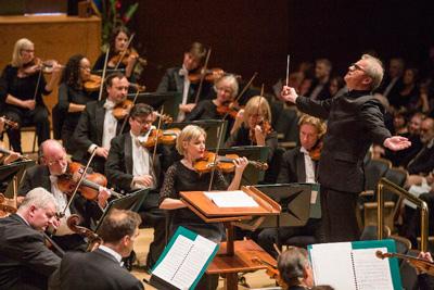 The Minnesota Orchestra.  Photo: Greg Helgeson