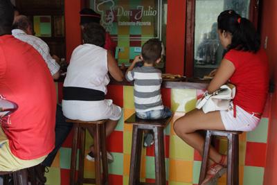 Private cafe in Old Havana.  Photo: Juan Suarez
