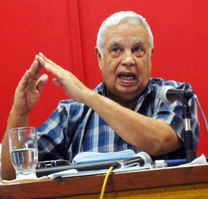 Rolando Alfonso Borges heads up the Ideological Department of the Cuban Communist Party