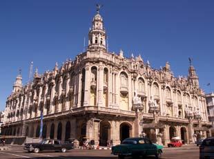 Havana's recently restored Garcia Lorca Theater.