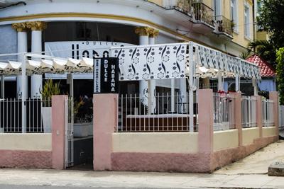 Dulce Habana a private Havana sweets shop.