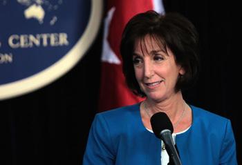 The top US negotiator was once again Roberta Jacobson.  Foto cubadebate.cu