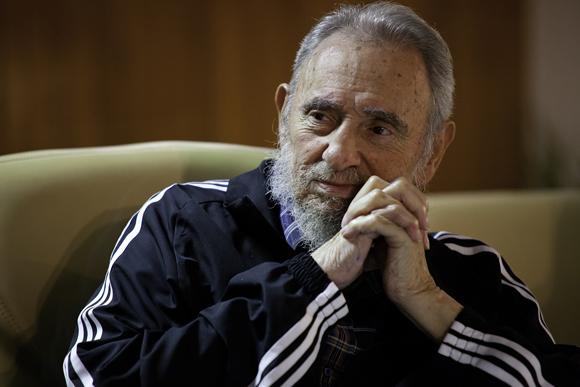 Fidel Castro.  File photo by Alex Castro/granma.cu