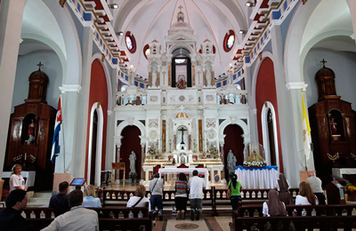 Catholic-Church-in-Santiago-de-Cuba