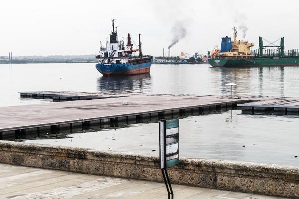 Ship in Havana  Bay.