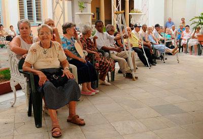 Home for the elderly.  Photo: Raquel Perez Diaz