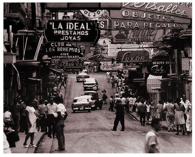 Cuba in the '50s.  Photo: pinterest.com