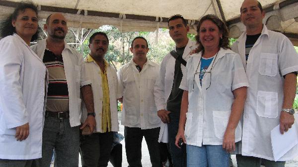 Cuban doctots in Guatemala.  Photo/archive: cubadebate.cu