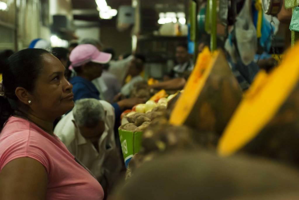 At the Catia Market.