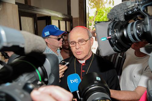 El Cardenal Jaime Ortega.  Foto: Raquel Pérez Díaz