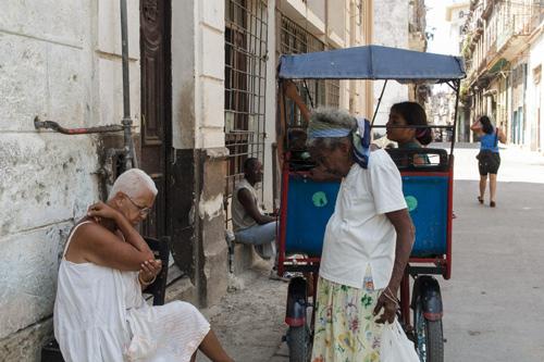 The Elderly are a growing part of the Cuban population.  Photo: Juan Suarez