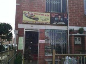 House for rent in Kennedy City, a district of Bogota.
