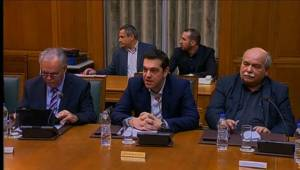 Greek Cabinet photo: Democracy Now.org