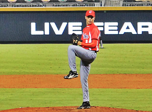 Hector Mendoza pitched a three strikeout ninth.