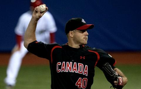 Veteran Shawn Hill picked up the win with six scoreless innings.