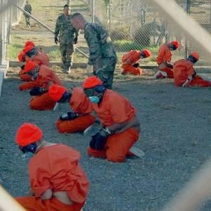 The US Guantanamo Prison Camp,