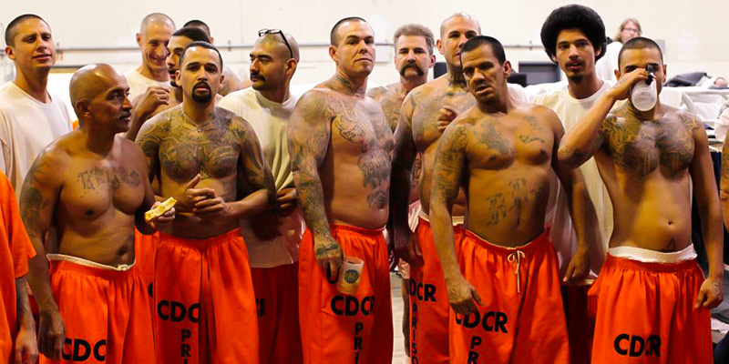 Prisoners in the USA.