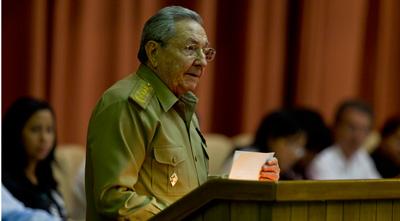 General/President Raul Castro addresses the Cuban parliament on July 15, 2015.  Photo: Ismael Francisco/cubadebate.cu