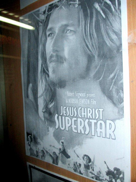Cartel de cine de  Jesus Christ SuperStar
