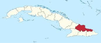 The province of Holguin, Cuba.  Map: wikipedia.org