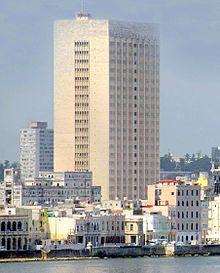 The Hermanos Almejeiras Hospital in Havana.