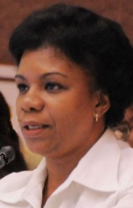 Ines Maria Chapman, a member of the Cuban Council of State.