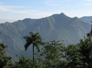 Turquino Peak, the highest point of Cuba's geography.