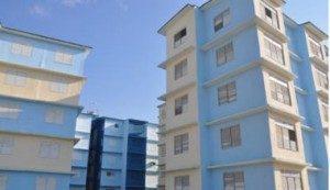 Apartment buildings for Cuban medical professionals in Holguin, Cuba.