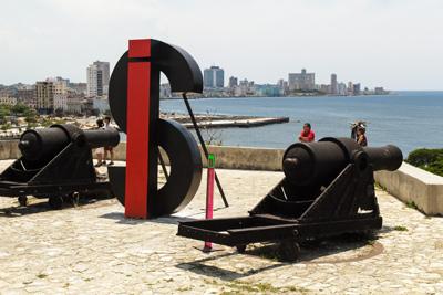 From this year's Havana Biennial.  Foto: Juan Suarez
